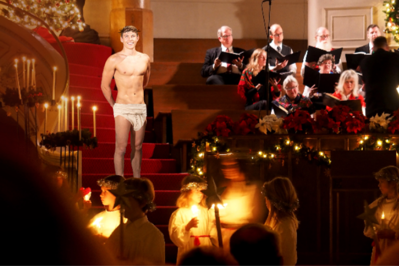 Local Gay Teen With Abs To Play Jesus In Church Nativity Play