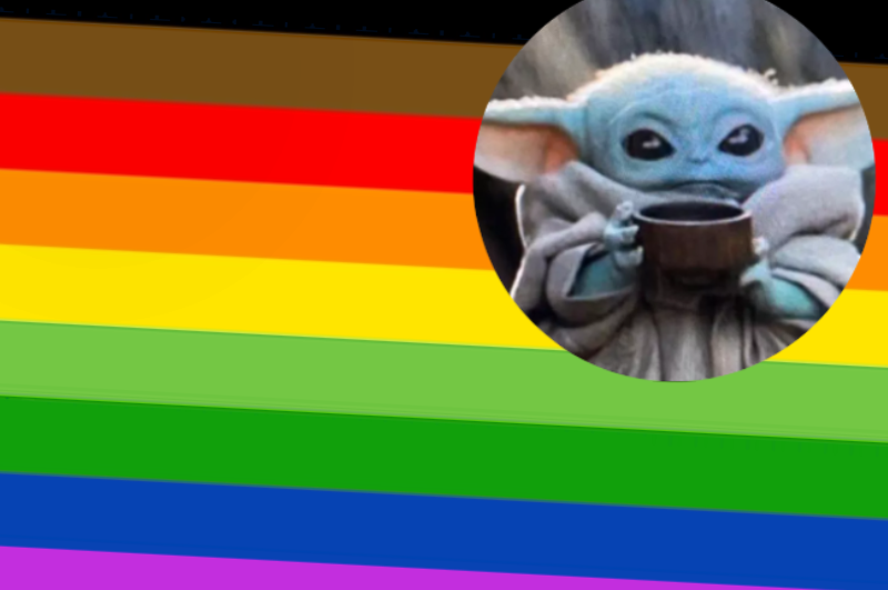 New Shade Of Green Added To Pride Flag To Represent Baby Yoda