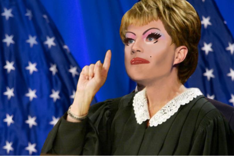 Pete Buttigieg Has A Bold VP Pick: His Drag Persona, Judge Judy Booty