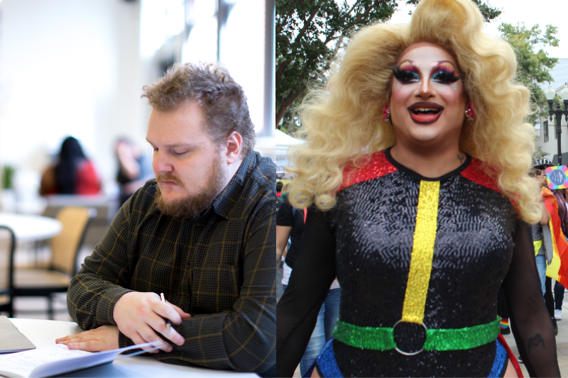 Watch This Drag Queen Transform From Icon To Person You Ignore On The Apps