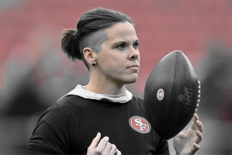 Lesbian NFL Coach Katie Sowers Probably Going To Be Written Off In Second Season