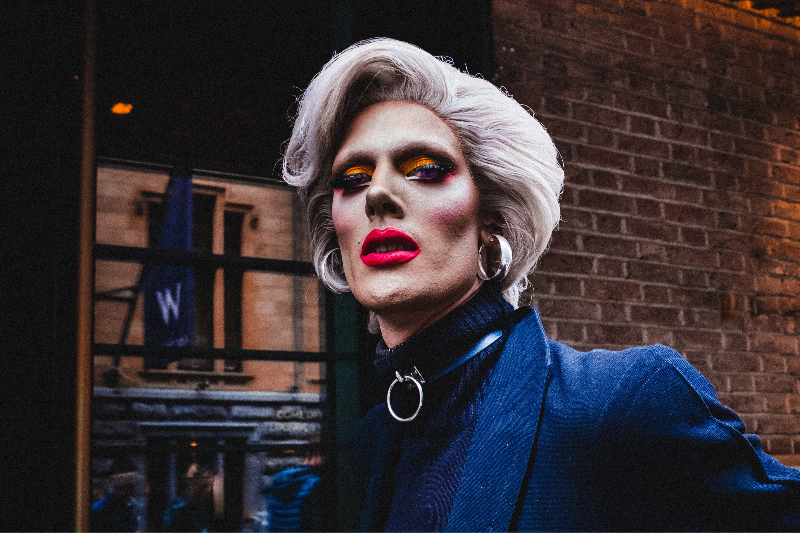 Drag Queen Sees Her Own Five O'Clock Shadow, Forecasting 6 More Weeks Of Winter