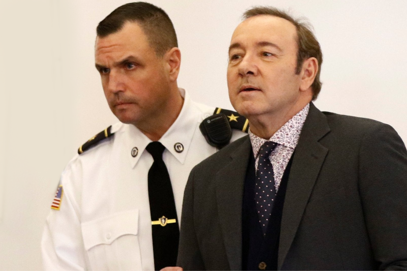 Kevin Spacey Currently Sentenced To Zero Years, Zero Months In Prison