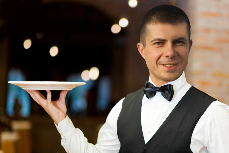 EXPOSED: Pete Buttigieg Did Serve In Afghanistan But As A Sassy Gay Waiter