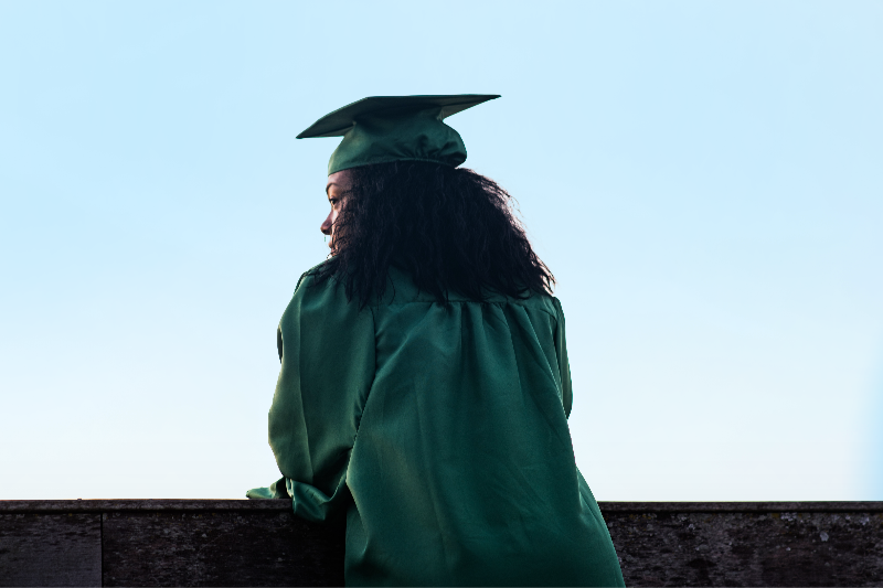 Senior Laments Graduation Just Won't Be The Same Without Burning Bridges In Person