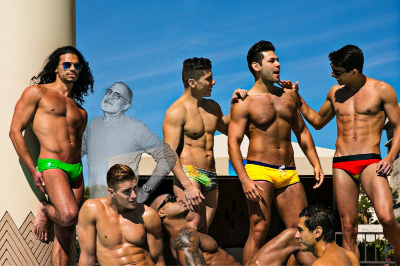 Gay Pool Party Honors Larry Kramer's Legacy