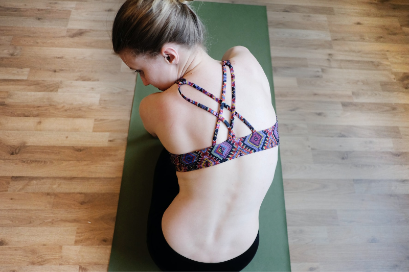 5 Yoga Poses To Strengthen Everything Visible During A Zoom Call