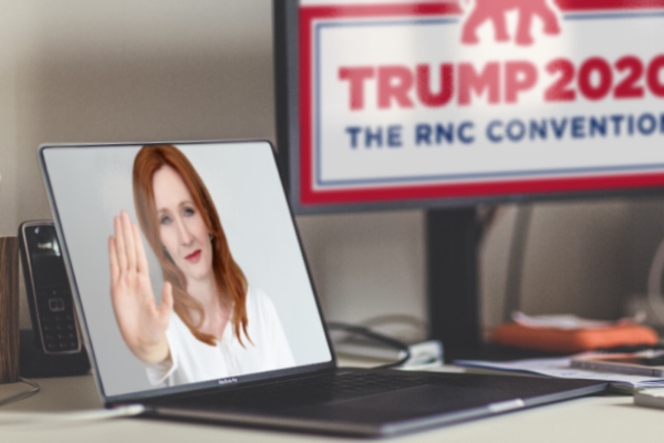 Huge Get! RNC Bathrooms Personally Policed By J.K. Rowling
