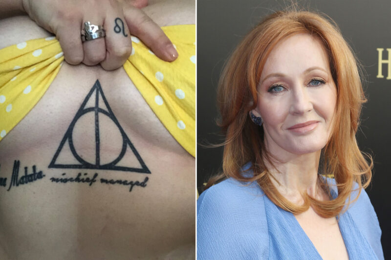 Brave! Cis People with Harry Potter Tattoos Make Transphobia About Them