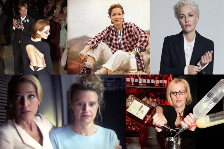 5 Pictures Of Gillian Anderson, That's It