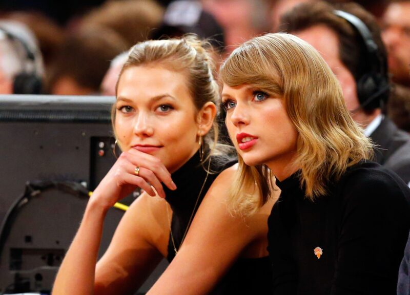 Taylor Swift To Release Re-Recorded Version Of Her Kissing Karlie Kloss