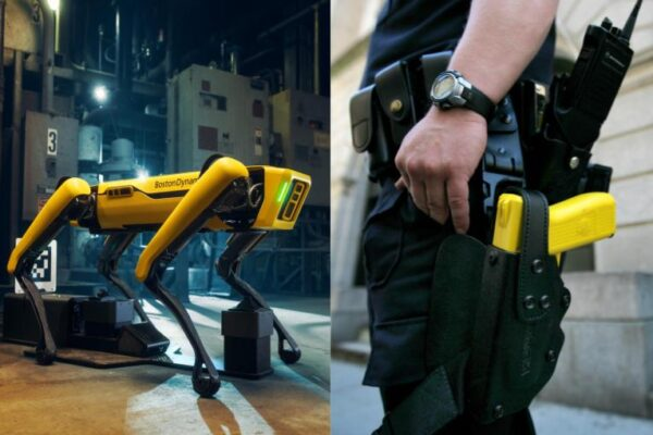 Cop Can't Tell The Difference Between Taser and Killer Robot Dog