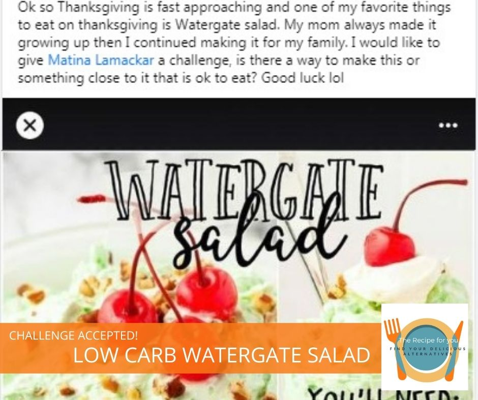 Low carb Watergate Salad
