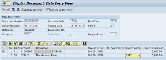 Post Customer Invoice in SAP