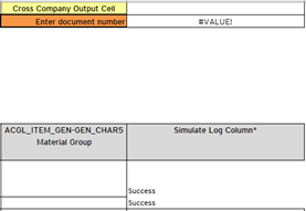 Winshuttle in SAP: Simulate