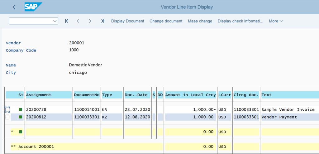 FBL1N in SAP: Cleared Items