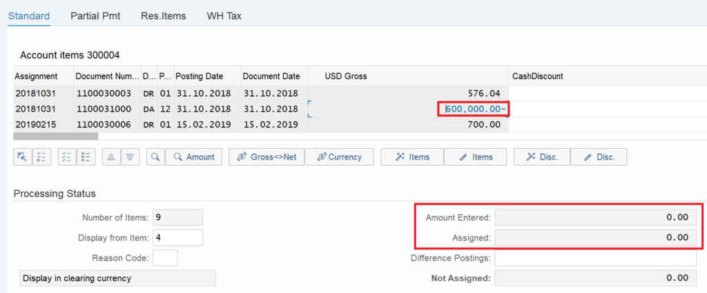 F-32 in SAP: Clear Customer open items