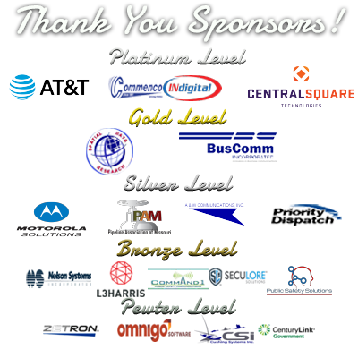 Image indicates the sponsors of the Spring 2020 MPSCC