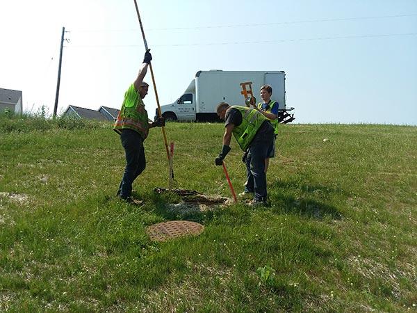 municipal sewer service