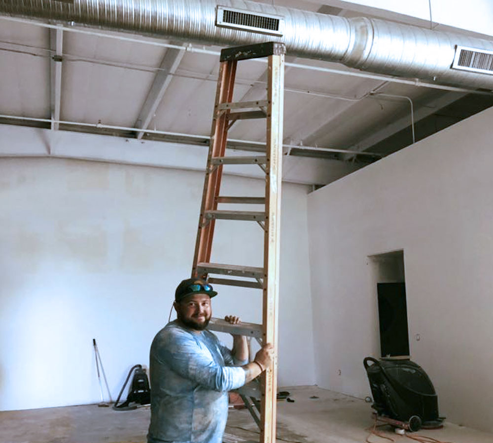 Poulin Cooling Commercial Installation