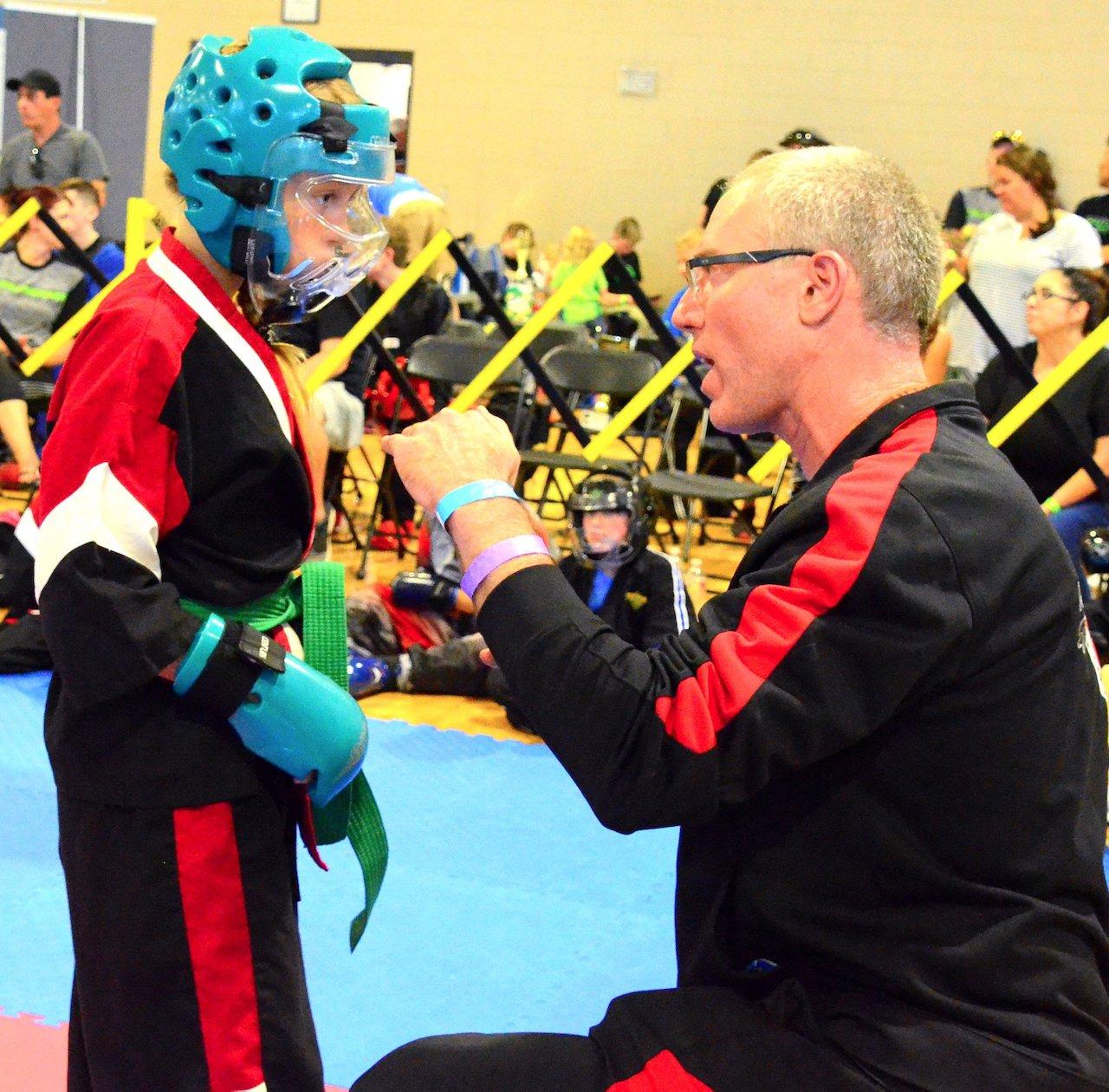Sensei Matt coaches 2X CKA state champion Harlee