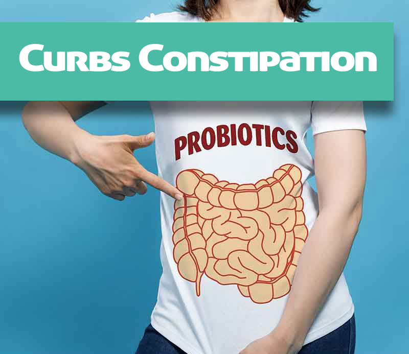 Curbs Constipation