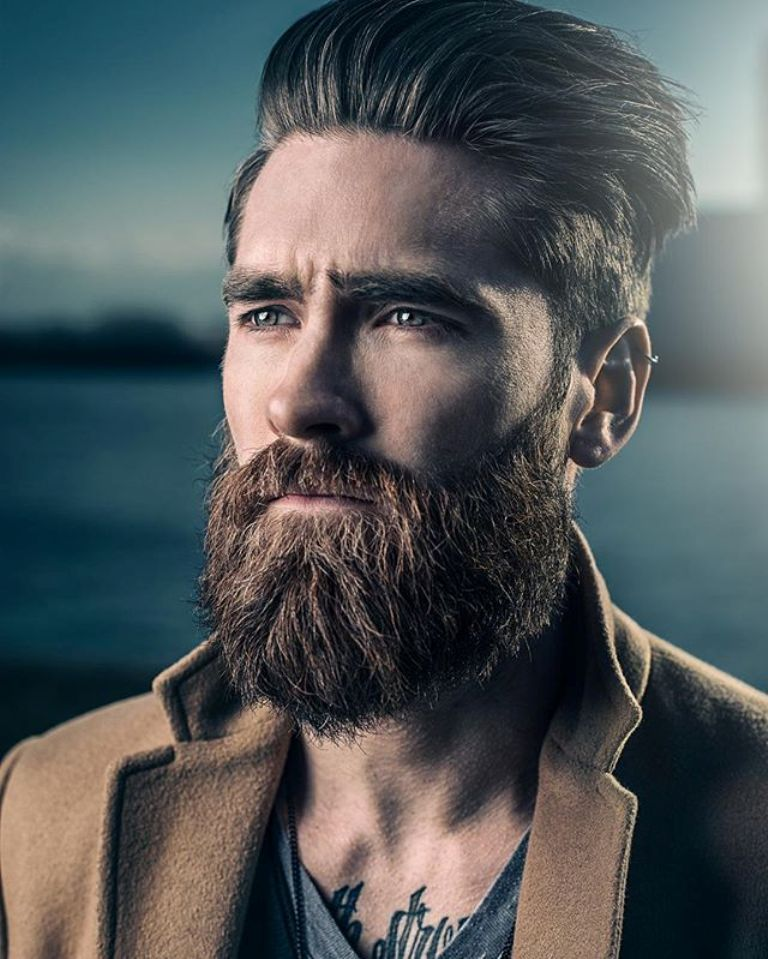 Full Beard Shape Grooming 2018 Beard Styles Fashion