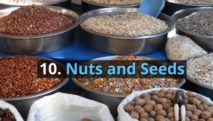 10. Nuts & Seeds