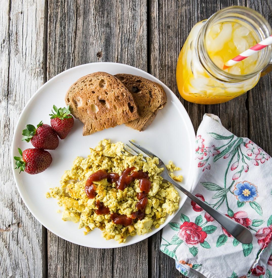 Scrambled eggs & Chia seeds