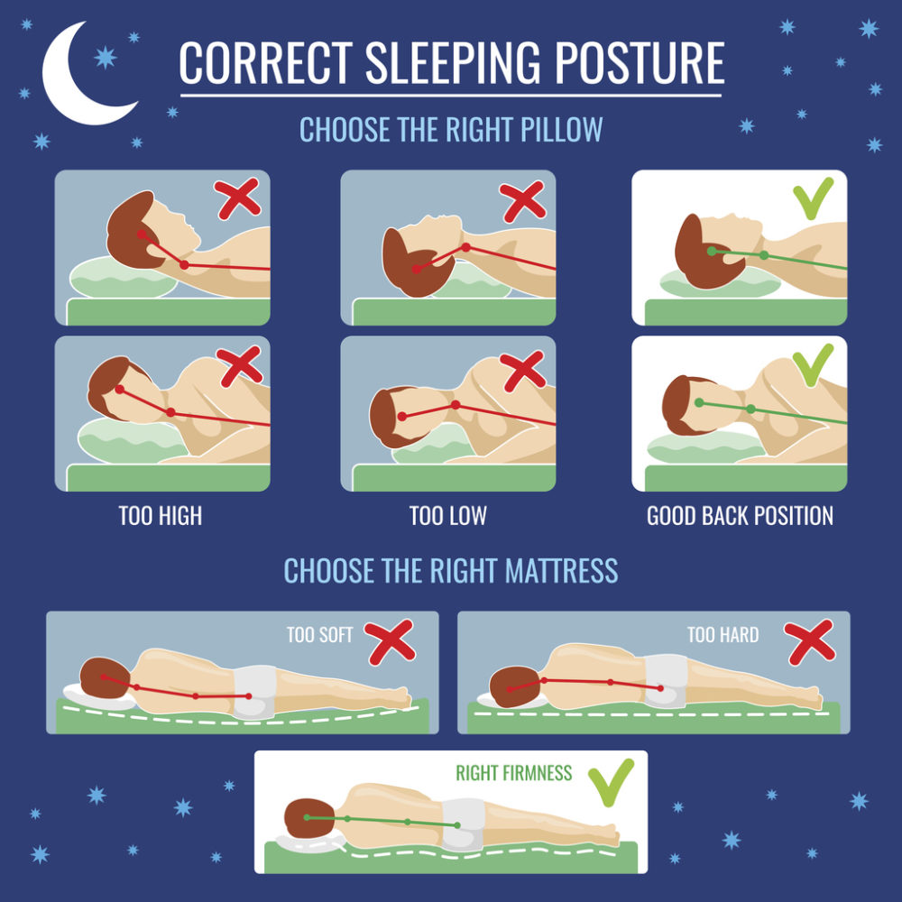 Change your sleeping posture