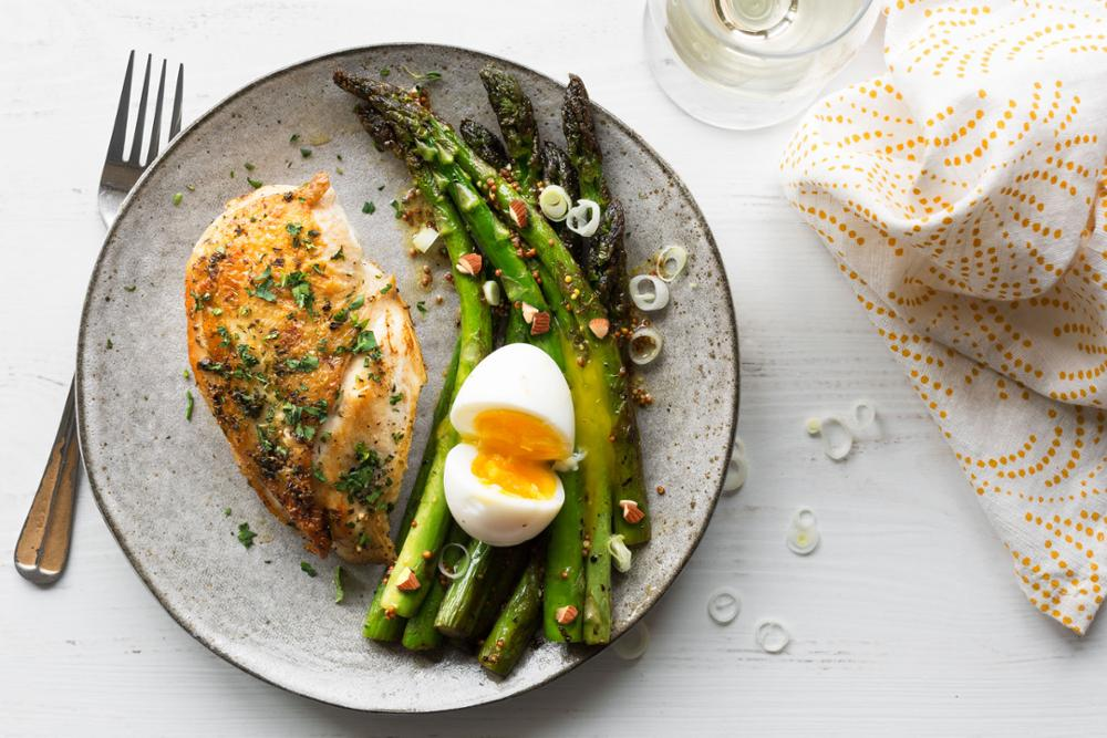 Eggs and chicken