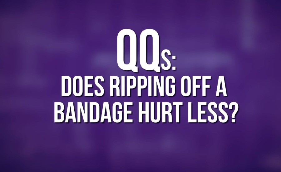 How to Remove Bandage From Skin to Hurt Less