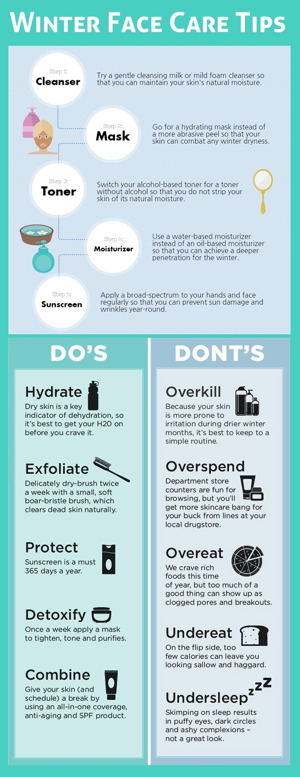 Winter Face Care Tips