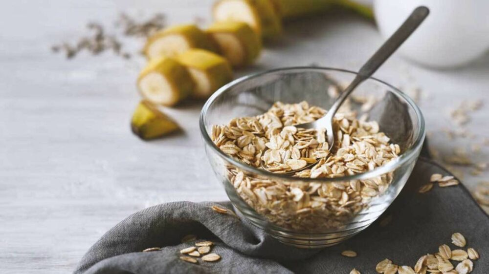 Oatmeal starches