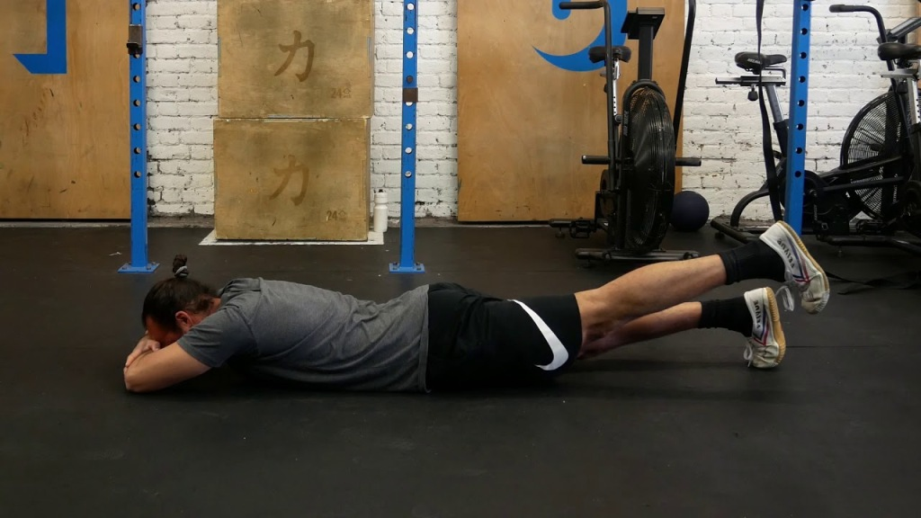 Prone Hip Extention