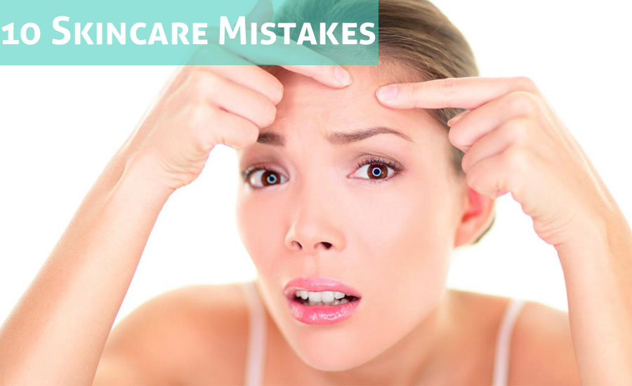 10 Skincare Mistakes That Are Making Your Face Blemish