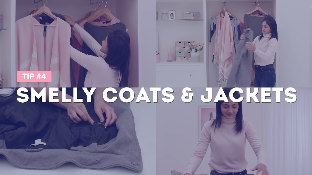 Smelly coats and jackets