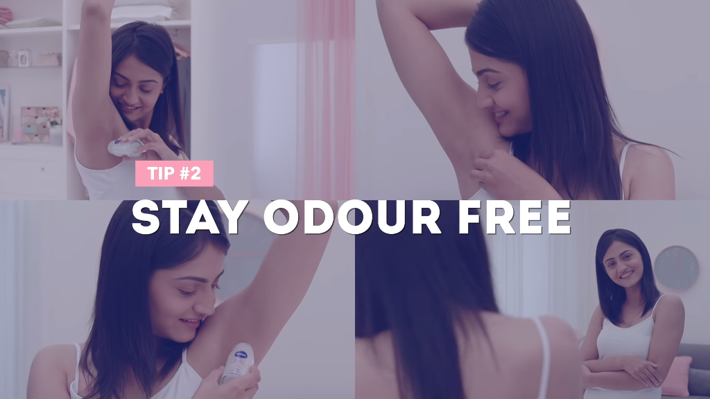 Stay odour free