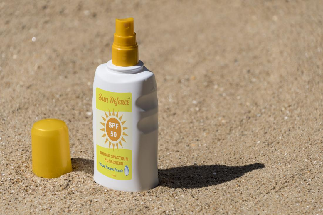 broad-spectrum sunscreen UVA plus UVB blocking