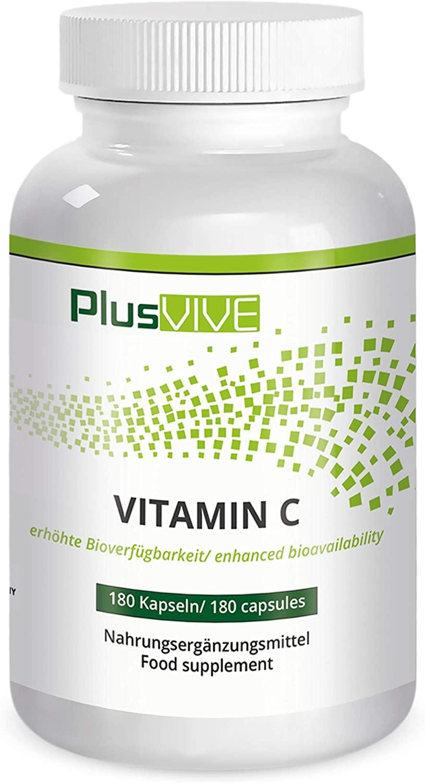 5. Plusvive natural Vitamin C with bioflavonoids