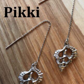 Pikki Triton threader earrings