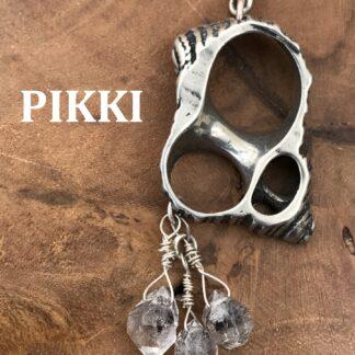 Turbo & Herkimer Diamond Earrings