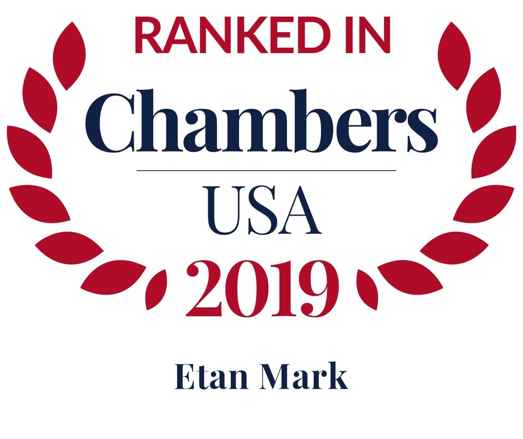 Chambers 2019 Leading Individual Seal