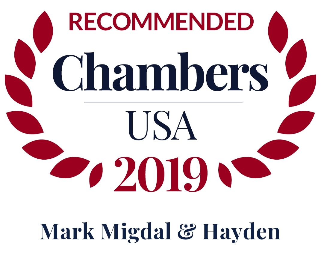 RECOMMENDED BY CHAMBERS SEAL TAKES YOU TO CHAMBERS OFFICIAL LISTING FOR MM&H