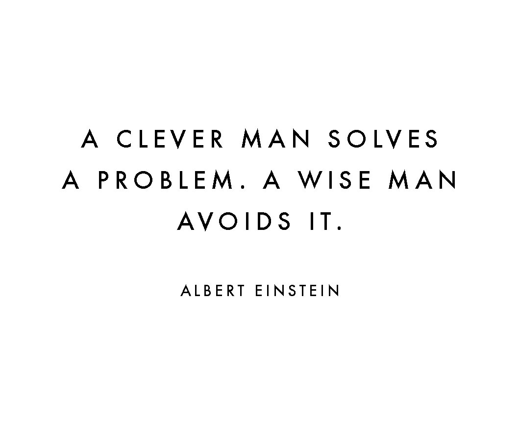 A-CLEVER-PERSON-SOLVES-A-PROBLEM-A-WISE-PERSON-AVOIDS-IT-mobile