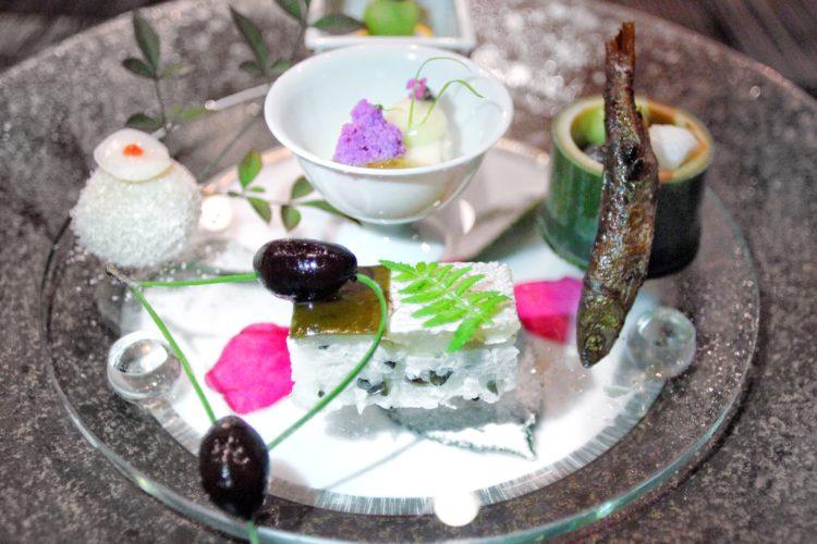 DINING AT HOSHINOYA KYOTO