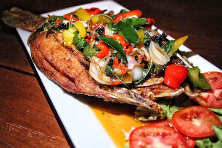 The Restaurant at Taatoh Seaview Resort