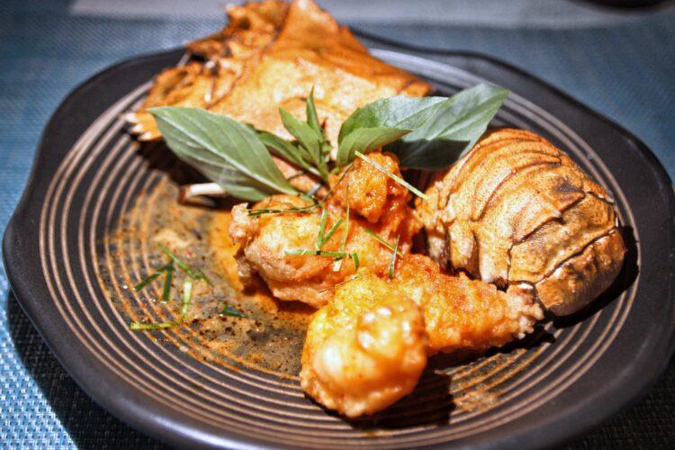Andaman Seafood Set at Rak Talay Restaurant Pimalai Resort & Spa Koh Lanta