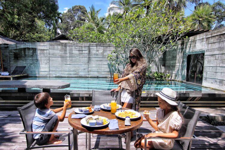 In-Villa Dining at The Slate Phuket