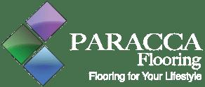 Paracca Flooring Logo White